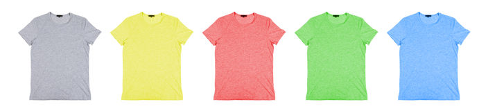 Color  tshirt Stock Photos