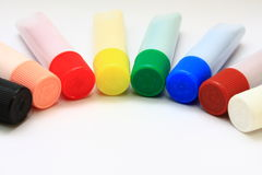 Color Tubes Stock Image