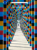 Color Tunnel Stock Photo