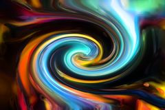 rainbow color background stock image