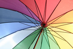 Color umbrella Stock Photos