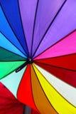 Color umbrella Royalty Free Stock Photos