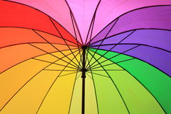 Color umbrella Stock Image