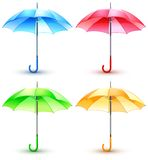 Color umbrellas Royalty Free Stock Photography