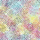 Color universal geometric seamless pattern Royalty Free Stock Photos