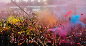 Color Up Run Stock Image