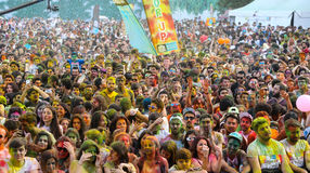 Color Up Run Stock Photography