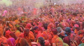 Color Up Run in Istanbul Stock Photos