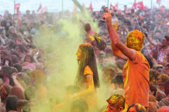 Color Up Run in Istanbul Stock Photography
