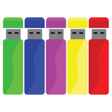 Color usb Stock Image