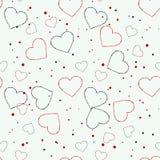 Color valentine hearths symbol seamless dark pattern eps 10. Color valentine hearths symbol seamless dark pattern eps10 Stock Photos