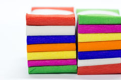 Color variety  ribbon bow Royalty Free Stock Photos