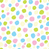 Color vector pattern. Seamless sweet colors points modern vector pattern Royalty Free Stock Image
