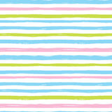 Color vector pattern. Seamless sweet colors stripes modern vector pattern Royalty Free Stock Photos