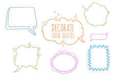 Color Vector Set Royalty Free Stock Images