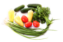 Color vegetables Royalty Free Stock Image