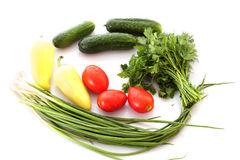 Color vegetables Stock Photos