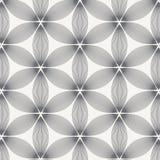 color vektorn f?r m?jliga variants f?r modellen den olika Monokrom prydnad med den abstrakta blomman vektor illustrationer