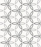color vektorn f?r m?jliga variants f?r modellen den olika Upprepa den geometriska abstrakta blomman stock illustrationer