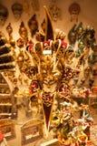 Color veneciano de la máscara Fotos de archivo libres de regalías