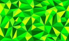 Color verde Art Vector Background polivinílico bajo libre illustration