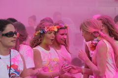 Color Vibe people Royalty Free Stock Image