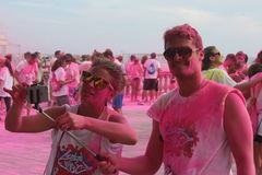 Color Vibe people Royalty Free Stock Photos