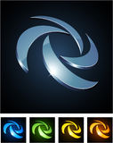 Color vibrant emblems. Stock Photography