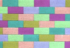 Color Wall Royalty Free Stock Photography