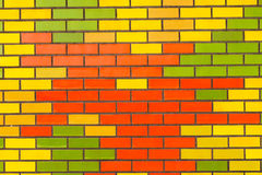 Color Wall Background Stock Image