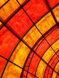Color of Warmness. With curves and leading lines Stock Photos