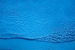 The color of water. The blue color that takes the photographed water of a pool royalty free stock image