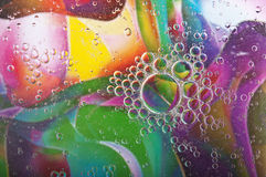 Color water bubbles Royalty Free Stock Image