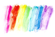 Color Water Drawing. Made with pencil royalty free stock photography