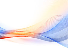 Color wave Stock Images