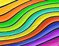 Color wave Stock Photos