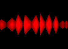 Color Waveform. This is a waveform graphic Stock Photos