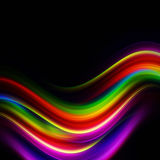 Color waves Royalty Free Stock Photos