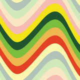 Color waves. Vector illustration of color waves Royalty Free Stock Photography