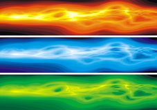 Color waves Stock Photography