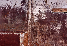 Color weathered metal wall texture. Background and texture Stock Image