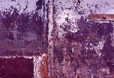 Color weathered metal wall texture. Background and texture Stock Photography