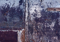 Color weathered metal wall texture. Background and texture Royalty Free Stock Images