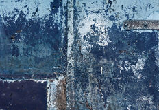 Color weathered metal wall texture. Background and texture Stock Photos
