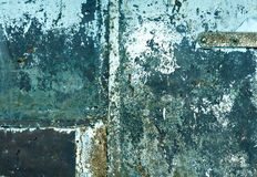 Color weathered metal wall texture. Background and texture for design Stock Images