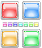 Color web buttons. Color web buttons Vector illustration vector illustration