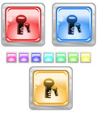 Color web buttons. Color web buttons Vector illustration Royalty Free Stock Photography