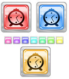 Color web buttons. Color web buttons Vector illustration Stock Photo