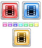 Color web buttons. Royalty Free Stock Photos