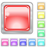 Color web buttons. Royalty Free Stock Image